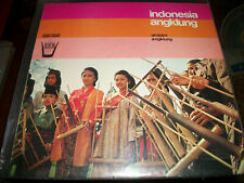 Gruppo Angklung – Indonesia Angklung - LP - 1977 - Universo Folklore / Arion