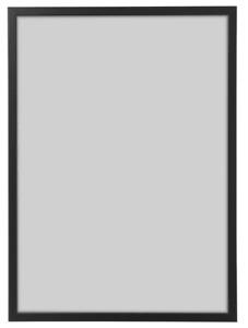 IKEA Bilderrahmen FISKBO 21 x 30 cm schwarz A4 Fotorahmen Bilder Foto Rahmen NEU