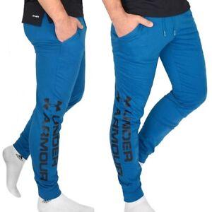 Under armour Men's Training Pants Jogging Sports Jogger Petrol Blue