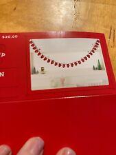 $20 Wondershop Countfown Christmas Garland S7