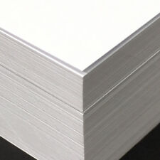 New 125 Sheets A4 Premium Smooth White 300gsm Cardstock 30% Recycled Acid Free