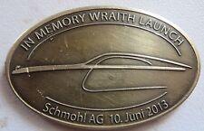Rolls-Royce Wraith Car Launch Badge Schmohi AG 10 june 2013 RR marks Logo