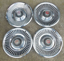"14"" 1967 68 Dodge Passenger rib type Hubcaps Wheel Covers"