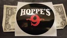 OEM Original Hoppe's 9 Hoppes #9 Cleaning Decal Sticker Hunting Shot Show 2018
