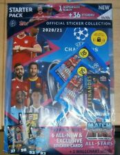 Topps UEFA Champions League 2020/21 Stickers Collection Starter Pack +36 sticker