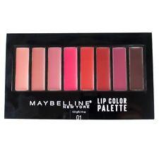 Maybelline Color Contour Lip Palette 01 (8) shades Lipstick New Unused