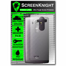 ScreenKnight LG G4 / H815 BACK SCREEN PROTECTOR invisible military shield