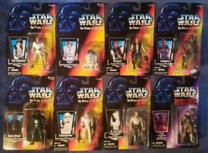 STAR WARS The Power Of The Force Action Figures Lot Of 8 ~ Kenner 1995 In Boxes
