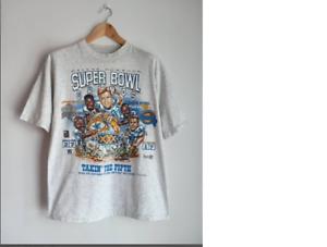 Vintage Dallas Cowboys Super Bowl Champs caricature 90s T-Shirt Footbal S-5XL