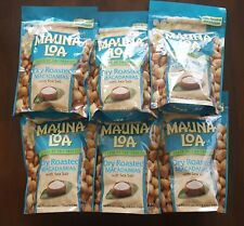 Mauna Loa Dry Roasted Macadamia Nuts with Sea Salt - 6 bags (10 oz per bag)
