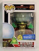 Funko Pop! Spider-Man Far From Home #473 MYSTERIO Walmart Exclusive (GITD) Glow