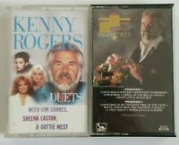 Kenny Rogers Cassette Bundle Duets & Kenny Rogers Christmas Tape