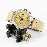 Early-Mid 1940's ANGELUS [Swiss]  Vintage Chronograph Watch Angelus Cal. 215