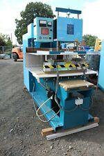 HALL DIELECTRIC MACHINERY MODEL #FS-10 HEAT SEAL BAR PRESS 10KW