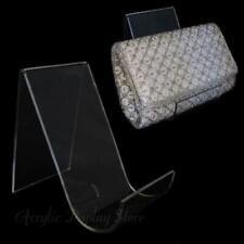New Listingacrylic Clutch Handbag Or Purse Display Easel 55
