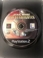 Star Wars Jedi Starfighter for PlayStation 2 PS2 TESTED & WORKING Game Disc ONLY