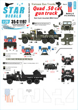 Star Decals 1/35 Vietnam Gun Trucks # 4 # 35-C1197