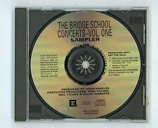 Neil Young Tom Petty Ministry 1997 Promo CD EP Sampler 1 Bridge School Concerts