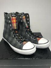 a27ce04e2c2 Converse Womens Size 10 CT Hi Rise Wool Winter Boots Thunder Plaid Shoes New