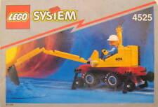 LEGO Bauanleitung System Schienenbau Bagger 1994 Bauplan 4525