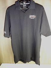 ADIDAS CLIMALITE Garage Equipment Supply Shirt Size 2xl. Short Sleeve Black XXL