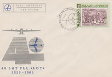 Poland postmark SZCZECIN - aviation LOT (analogous)