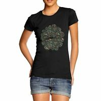 Twisted Envy Women's Blossom And Bird Print T-Shirt