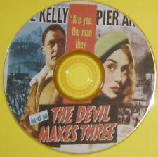 FILM NOIR 474: THE DEVIL MAKES THREE (1952) Gene Kelly, Pier Angeli