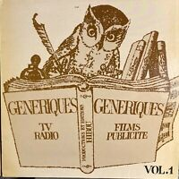 french disco jazz funk Library LP GENERIQUES Vol. 1 ♫ Hibou MP3 Synth Breaks VA