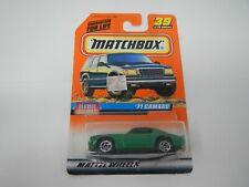 Matchbox Classic Decades '71 Camaro #39