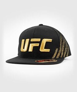 UFC VENUM MMA HAT CAP AUTHENTIC FIGHT NIGHT UNISEX WALKOUT HAT - GOLD 00010-126