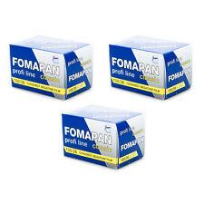 3 Rolls x FOMAPAN 100 Profi Line Classic 135 35mm 36exp Black & White Film FOMA