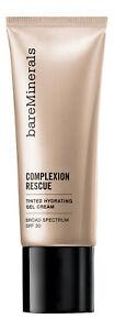 Bareminerals Complexion Rescue Tinted Hydrating Gel Cream Tan 07 1 fl oz 30 ml.