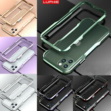 LUPHIE Luxury Metal Bumper Frame Aluminum Case Cover For iPhone 11 Pro Max/11