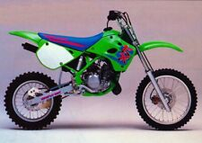 UFO KAWASAKI KX 80 1991 - 1997 KIT IN PLASTICA Motocross tutti VERDE (esempio pic)