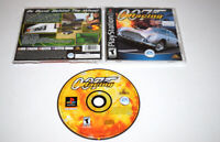 007 Racing Playstation PS1 Video Game Complete