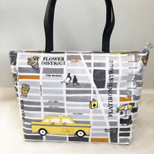 NEW KATE SPADE Nouveau York New York Francis Street Map Taxi Cab Tote Bag Purse
