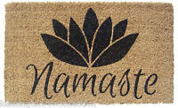 "DOOR MATS - NAMASTE COIR DOORMAT - 18"" X 30"" - DOOR MAT -  WELCOME MAT"