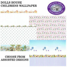 Any Room Modern Dolls' House Wallpapers