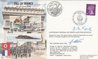 WW11 series 50th Anniversary of the fall of France signed 2 involved.