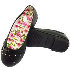 Chaussures noires à enfiler pour fille de 2 à 16 ans Pointure 31