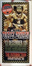 Djali Zwan Poster Silkscreen Grand Rapids MI 13-12-2013 Smashing Pumpkins The