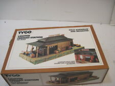 OLD TYCO TRAIN LIGHTED FREIGHT STATION HO SCALE MODEL KIT R.R. BUILDINGS