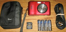 Nikon Coolpix L18 8.0 MP 3.0x Optical Zoom Lens Red UVGC Guarantee Bundled