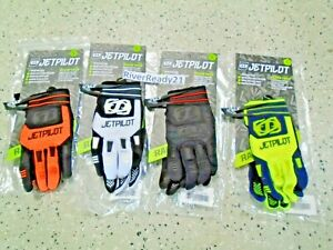 JET-PILOT Matrix Race Glove-s PWC Jet-ski Sea-Doo Blk/org/lime Glove Tech sm-xl