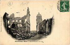 CPA  Montmédy-Haut - Bombardement de 1870    (432218)