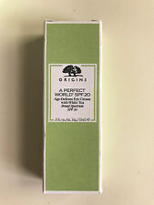 Origins A Perfect World SPF 20 Age Defense Eye Cream w/White Tea .5oz * NEW *