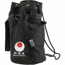 Blitz Shotokan Discipline Duffle Bag - Black - Karate Martial Arts Training
