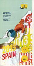 España Deportes Campeonato del Mundo de Balonmano Masculino año 2013 (DQ-289)