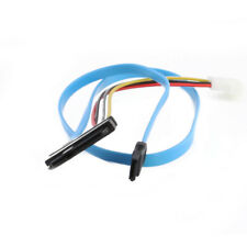 New Molex To SATA  Power and Data Cable Lead Adatper For HDD CD DVD Drive